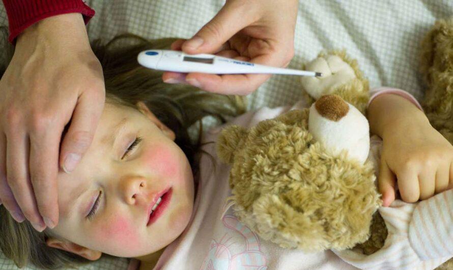 Как распознать грипп у ребенка